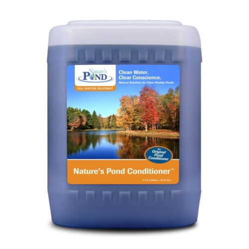 natures pond conditioner 5 gallon pail