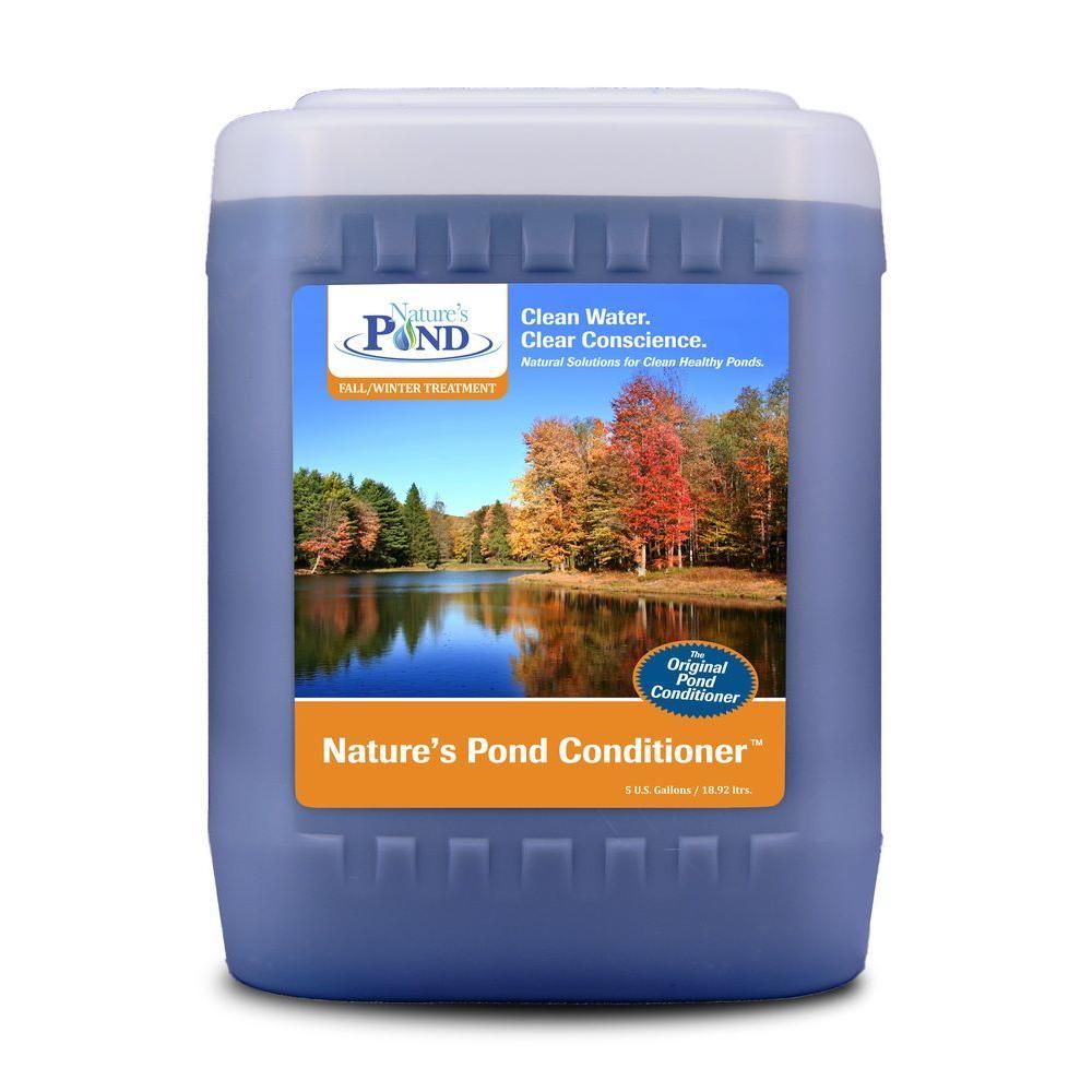 natures pond conditioner 5 gallon pail