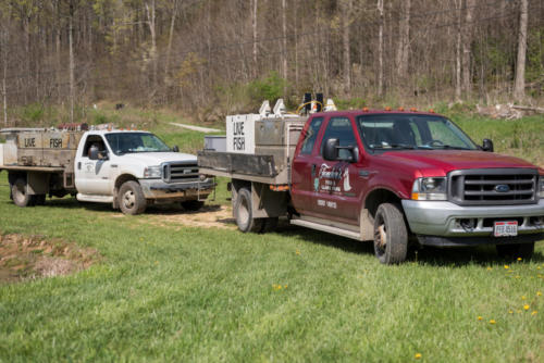 Fenders Fish Hatchery Trucks